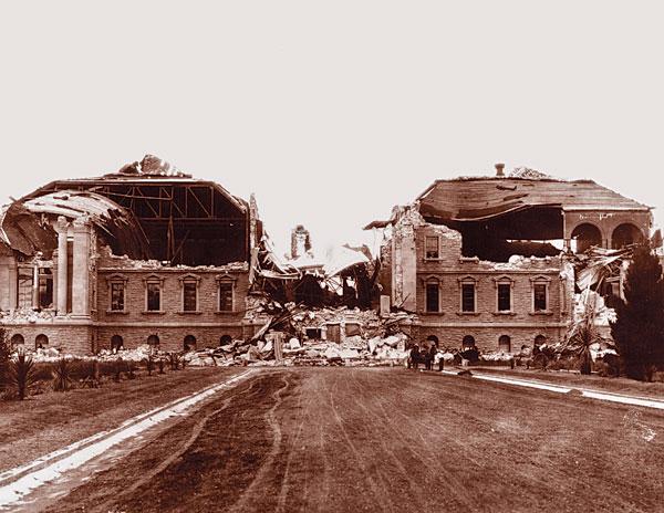 Stanford quake